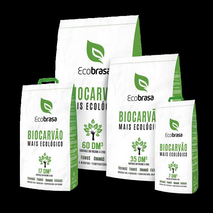 Biocarvão Ecobrasa - Mais Ecológico