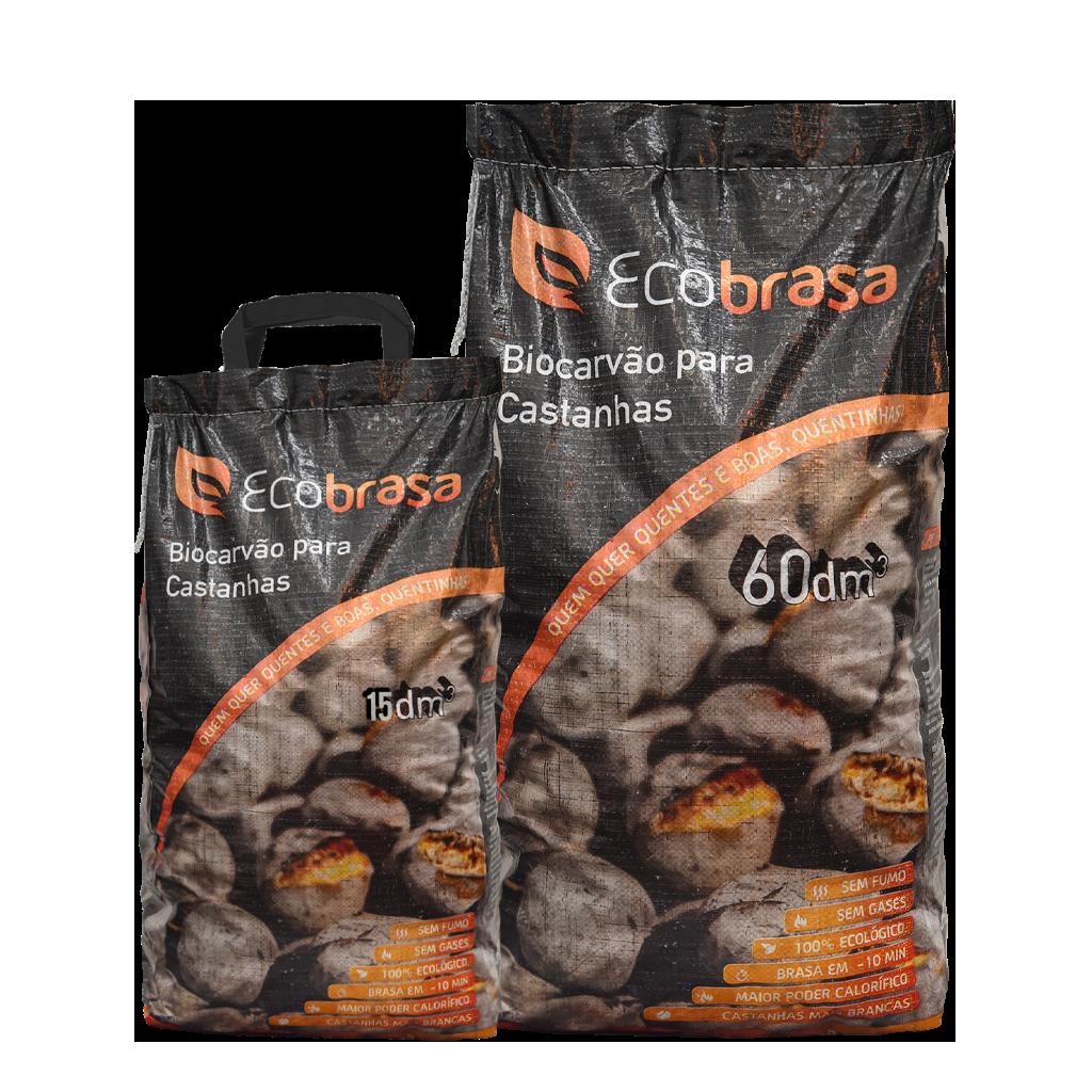 Biocarvão - Especial Castanhas